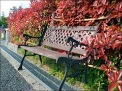 園内にはベンチもあって、しばらく景色を眺めながらゆっくりすることができた