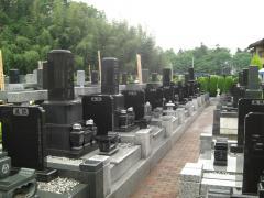 歩きやすく、しっかりと整備された歩道は格子状の作りと相まって、墓地ならではの動きにくさは感じられません