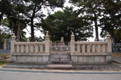 公営墓地だが、お墓のつくりはさまざま