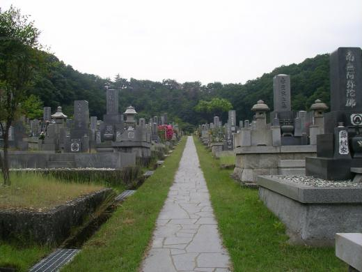 公園墓地と呼ぶにふさわしい場所だ