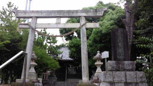 霊園の風景