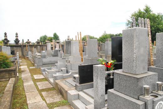 他の墓所と近接しているため、静かでおだやかな雰囲気