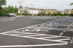 車椅子用駐車場スペース