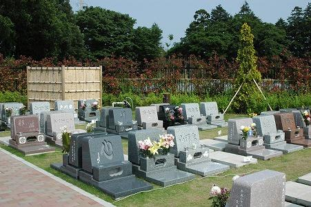 墓前芝生区画