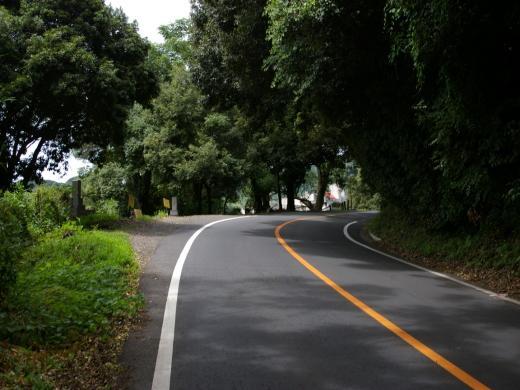 金峰山本妙寺付近