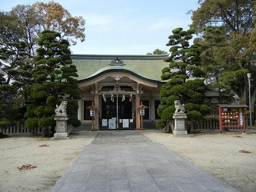 大江神社の拝殿