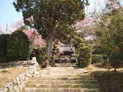 寺院の入り口