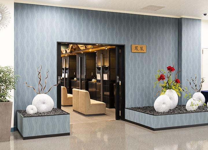 礼拝室入口(3階)
