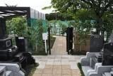こちらは、ペットの火葬施設・合祀墓への入口ゲート。