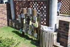 ガゼボ脇の水汲み場。よく手入れが行き届いています。