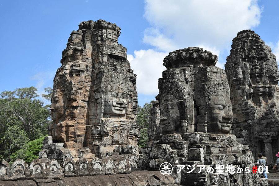 バイヨン寺院の石像