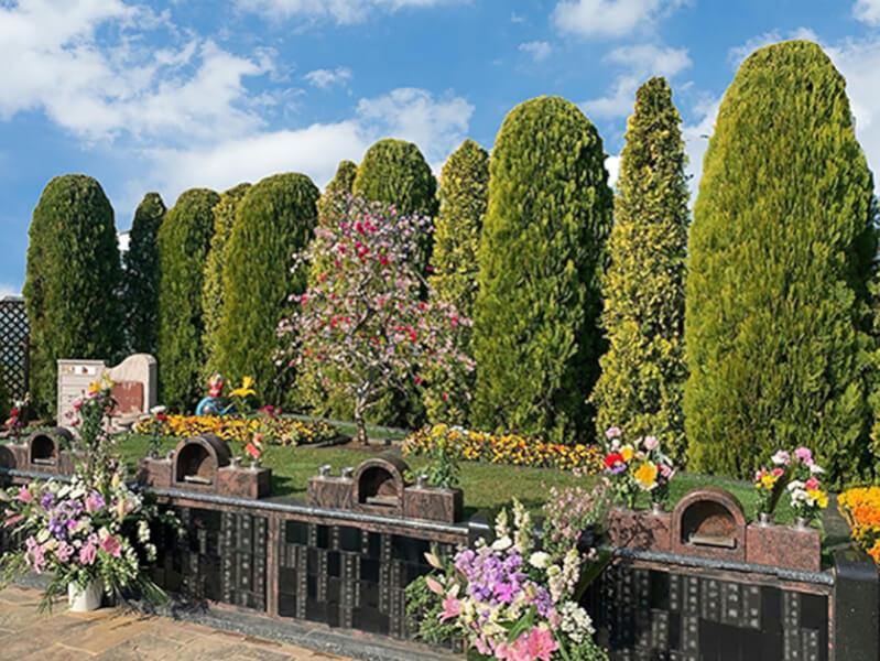 庭園タイプの樹木葬の画像