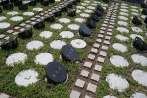 谷中ガーデン墓地の樹木葬区画