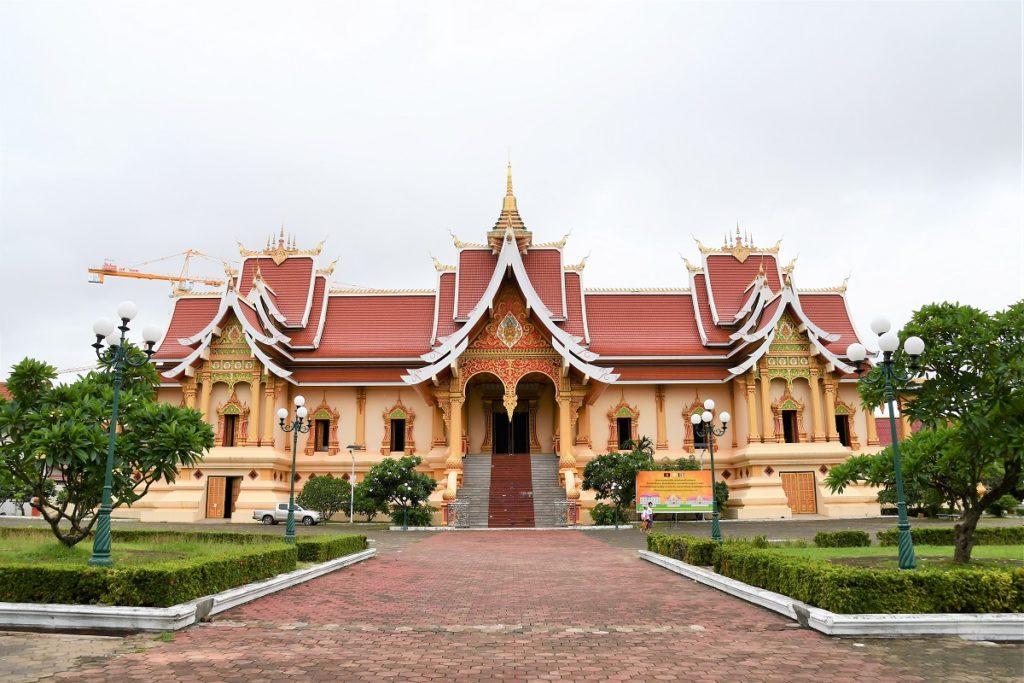 最高位の僧侶が住む豪華な宮殿