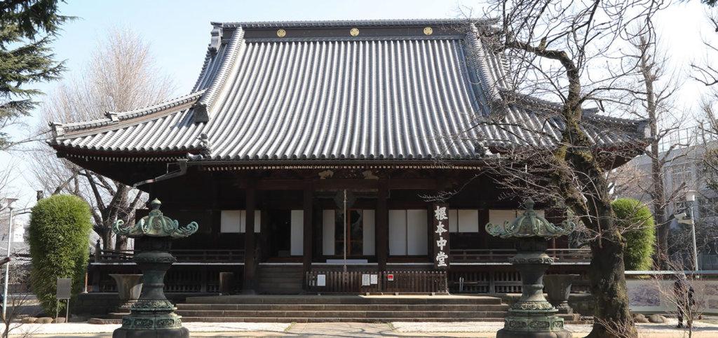 寛永寺 根本中堂