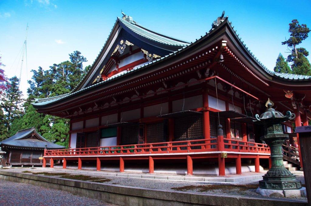 比叡山延暦寺 大講堂