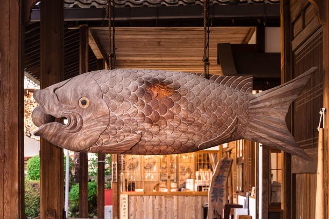 萬福寺 開梛(魚梛)