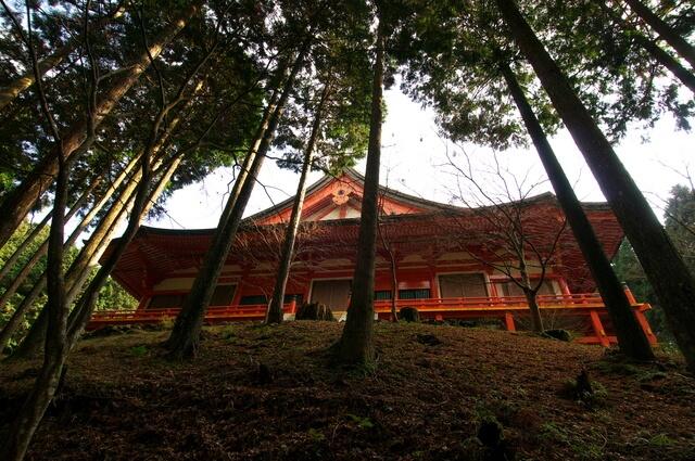 延暦寺 横川中堂