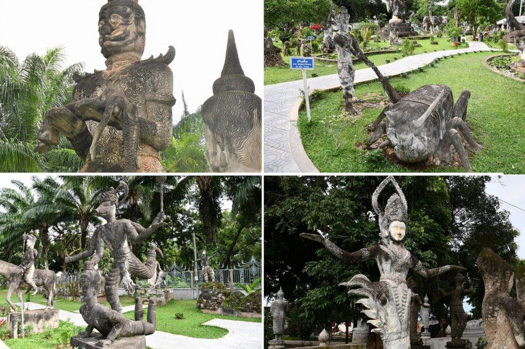 200体を超える奇妙な神仏の数々