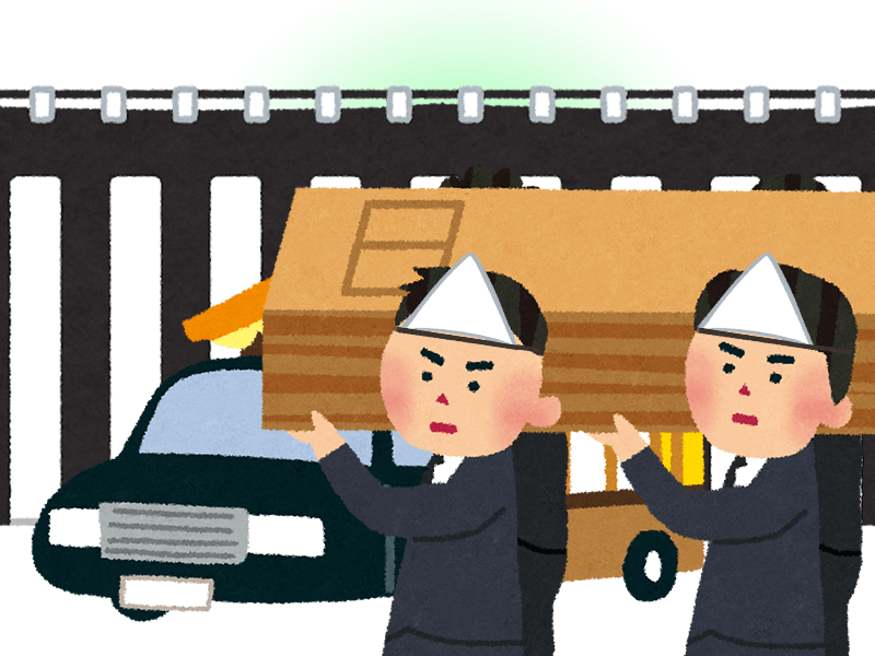 式前出棺と呼ばれる宮城県の葬儀の特徴のイメージ
