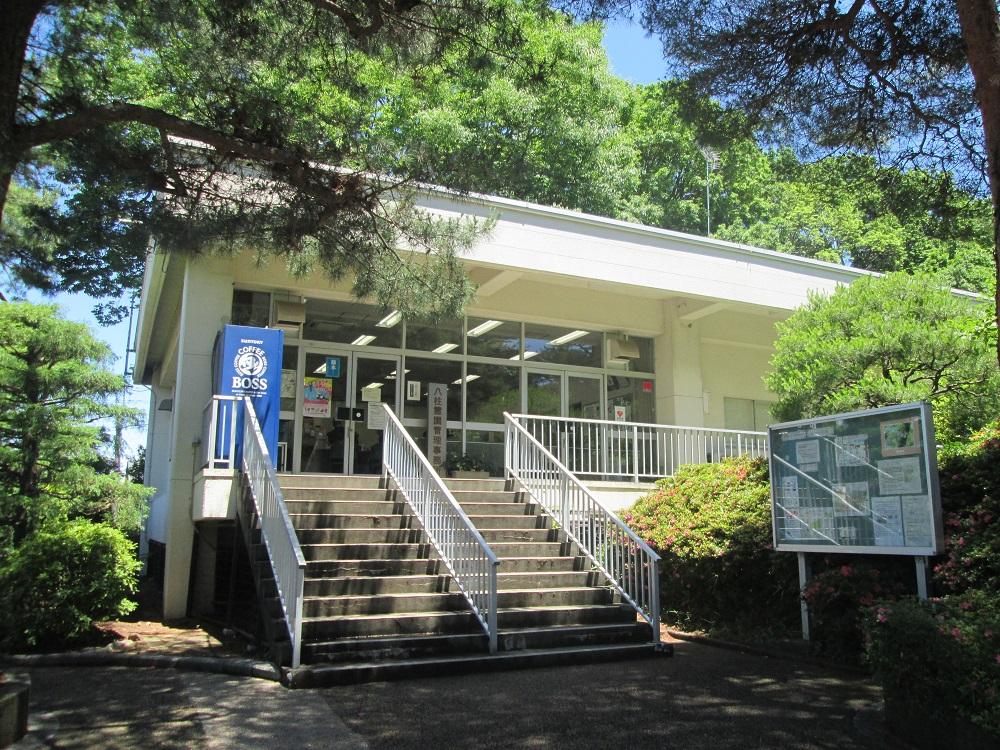 都立八柱霊園の管理事務所