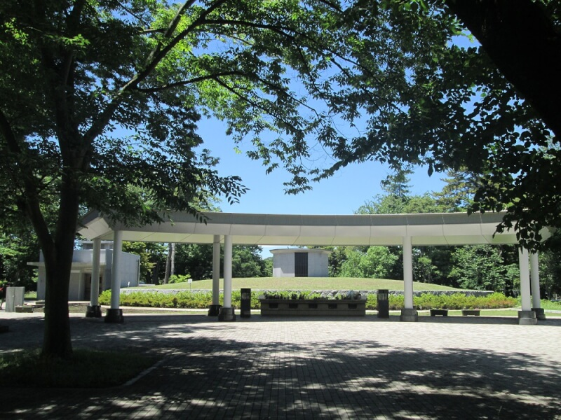 都立八柱霊園の合葬埋蔵施設の画像