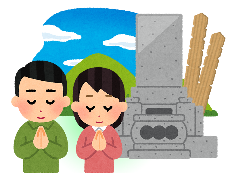 地上カロートが主流の千葉県のお墓の特徴のイメージ