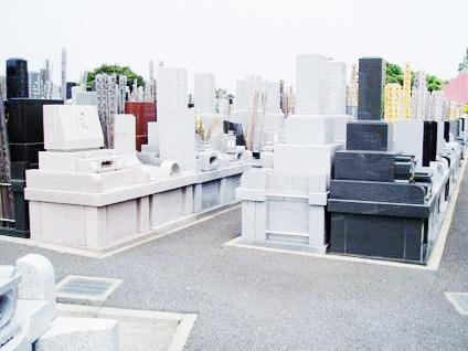 大本山總持寺の一般墓区画は広さが細かくわかれている