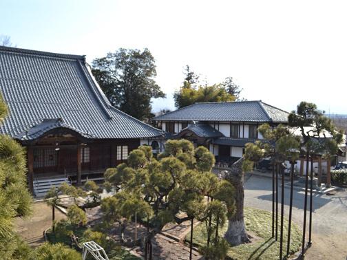瑞蓮寺の本堂には武田菱よりも格上の武田花菱の紋がある