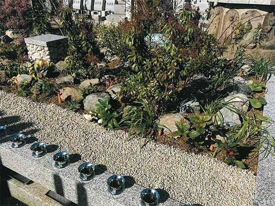 プレミアム東中野樹木葬墓地