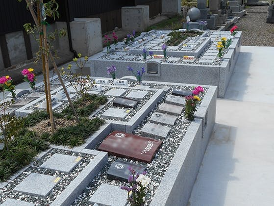 蓮成寺樹木葬墓苑 やわらぎ苑